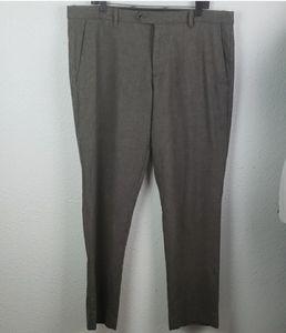 GAP TAILORED Wool-Blend Brown Dress Pants 38x32